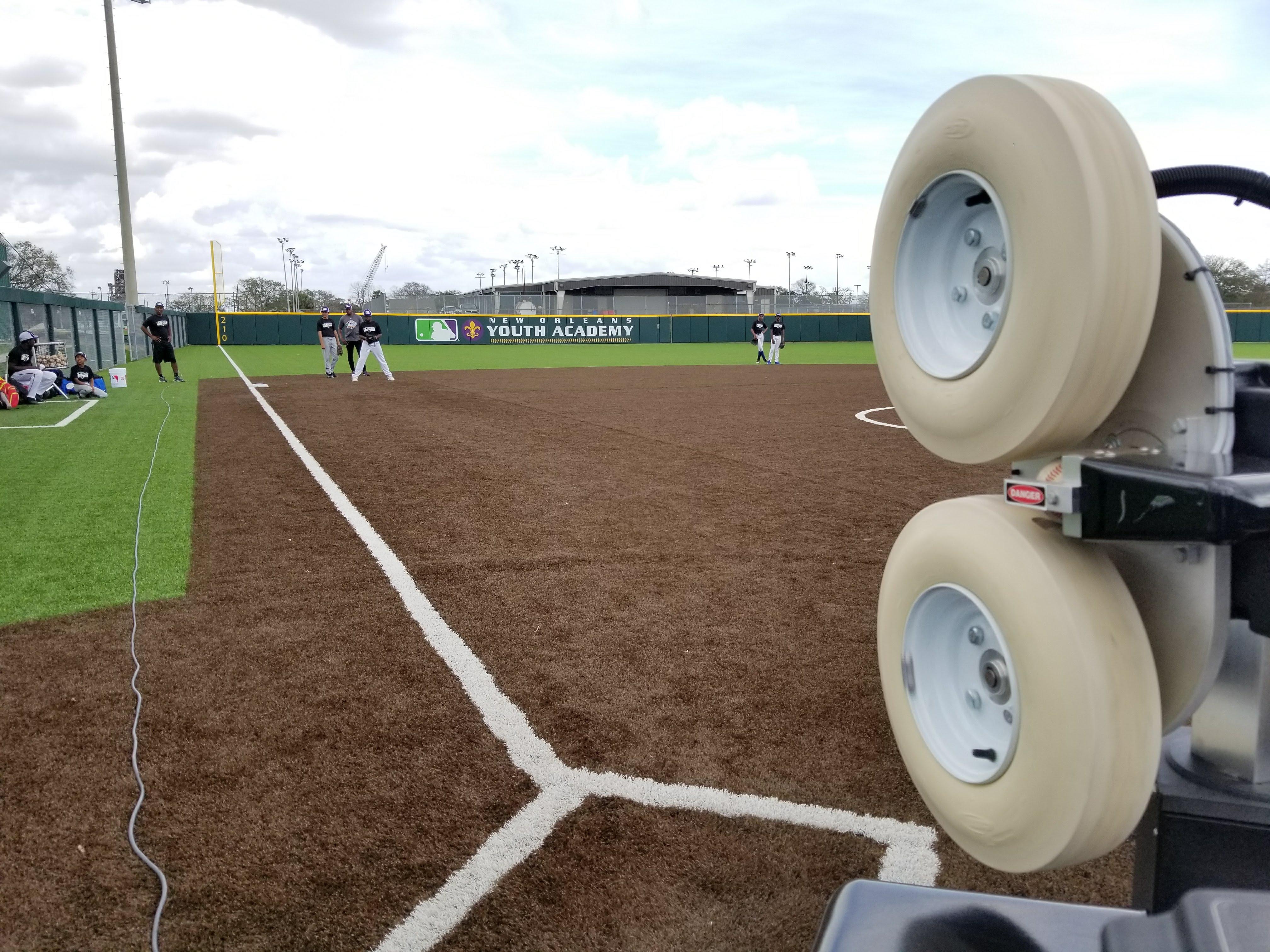 MLB Youth Academy NOLA FungoMan