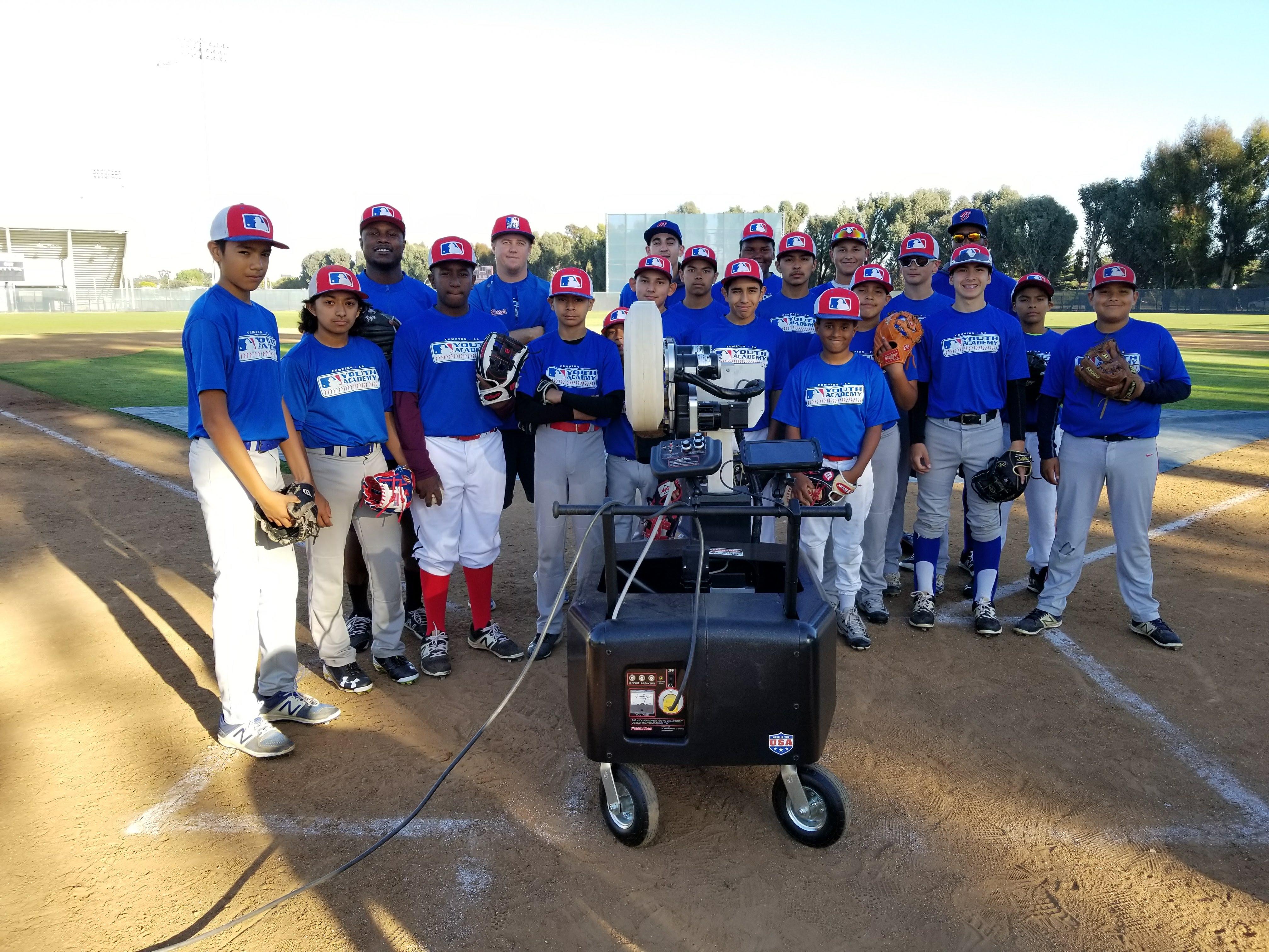 MLB Youth Academy Compton FungoMan