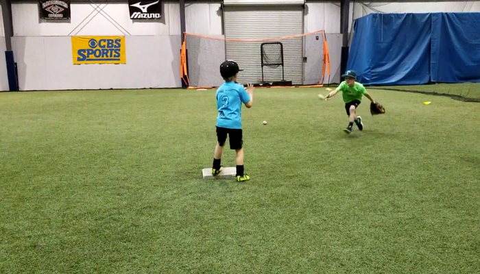 7U Baseball Practice